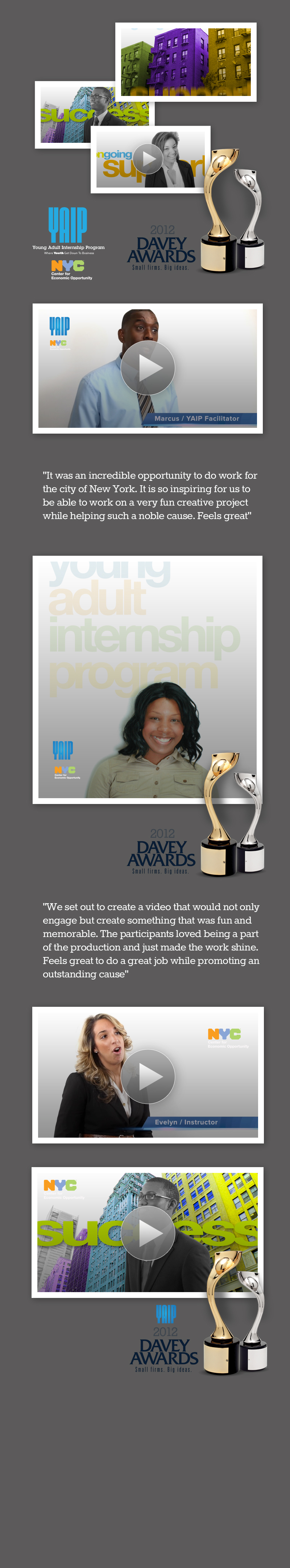 Winner 2012 Davey Award